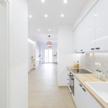 Apartment renovation | 57 sq.m. | Analipsi area