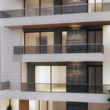 Υπό ανέγερση | δύο κτίρια κατοικιών με parking και αποθήκες
