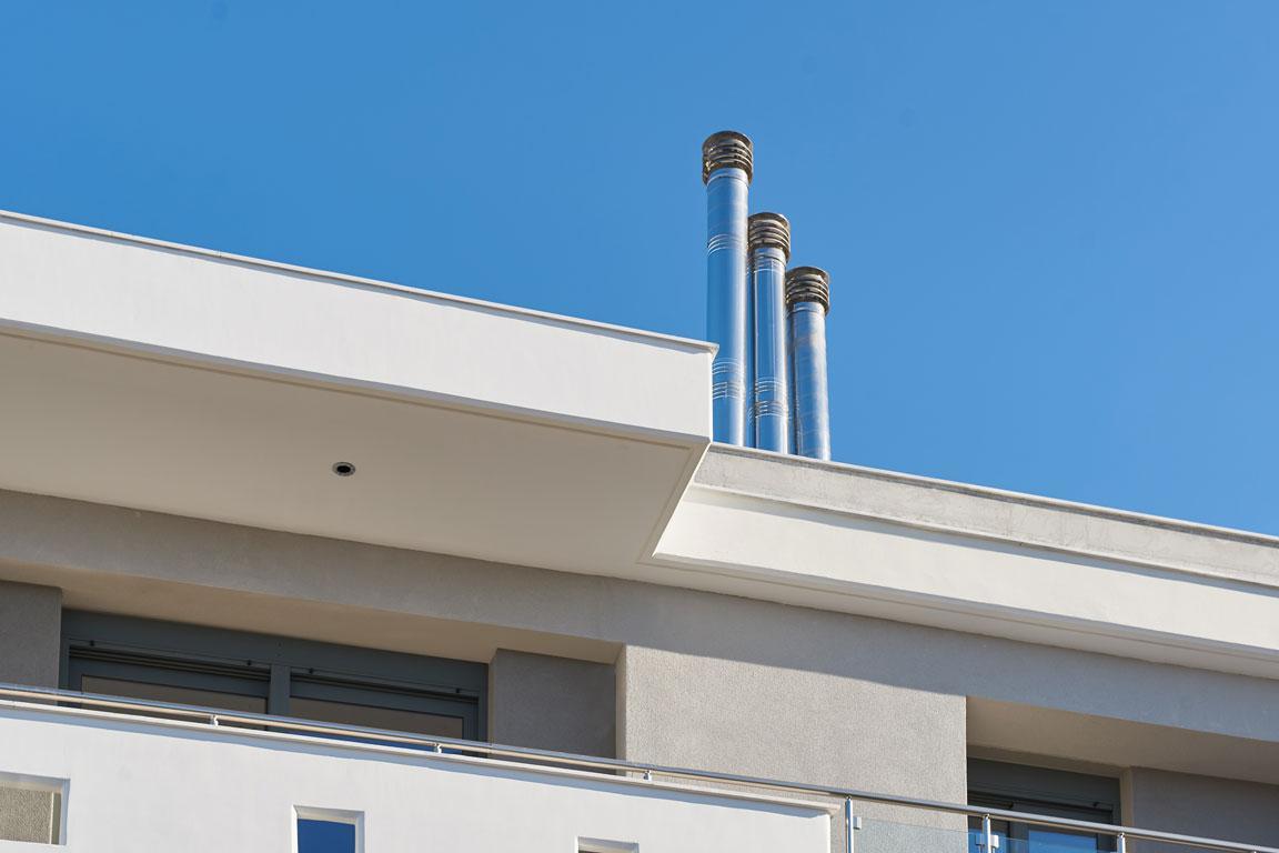 6- όροφο κτίριο κατοικιών στην Καλαμαριά