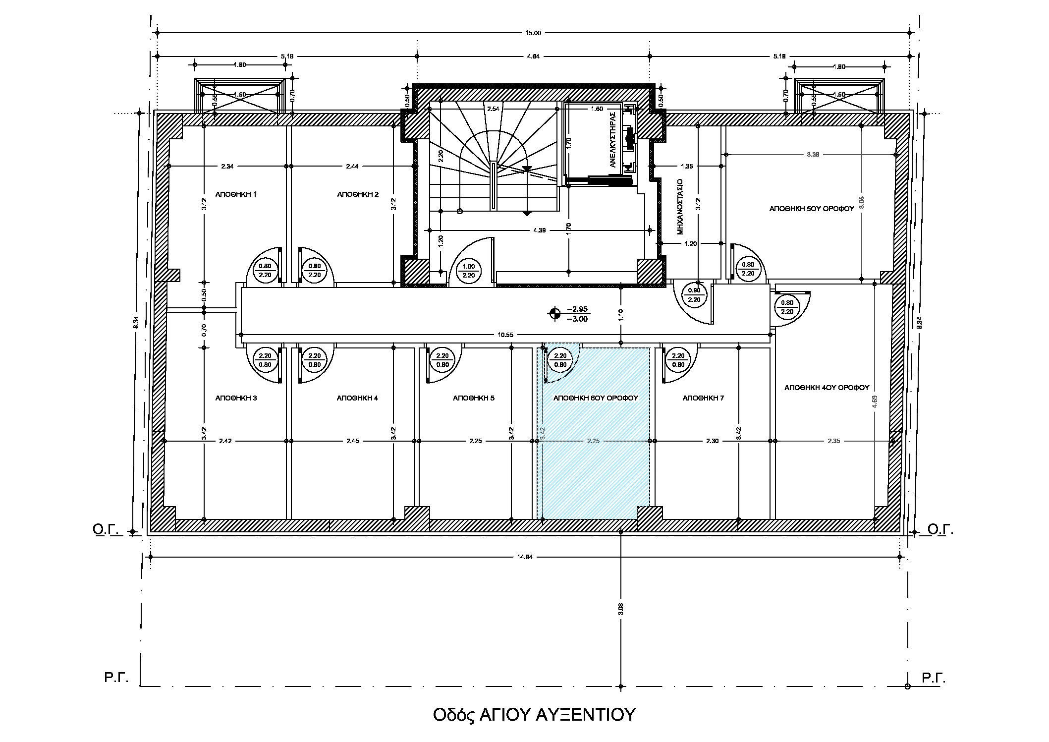 Καλαμαριά | Διαμέρισμα | 134 τ.μ. | 6ος όροφος |