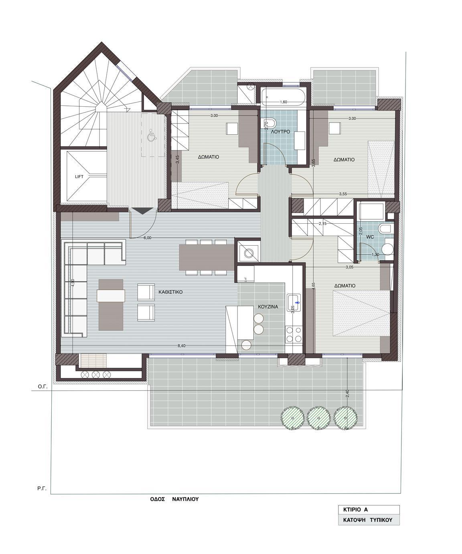 Kato Toumpa | Nafpliou Str. | Apartment | 127 sq.m. | 5th floor | SOLD