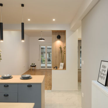 Apartment renovation | 75 sq.m. | Analipsi area