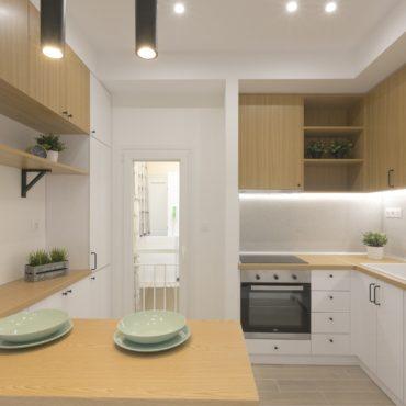 Apartment renovation | Kato Toumpa | 85 sq.m. | 2nd floor