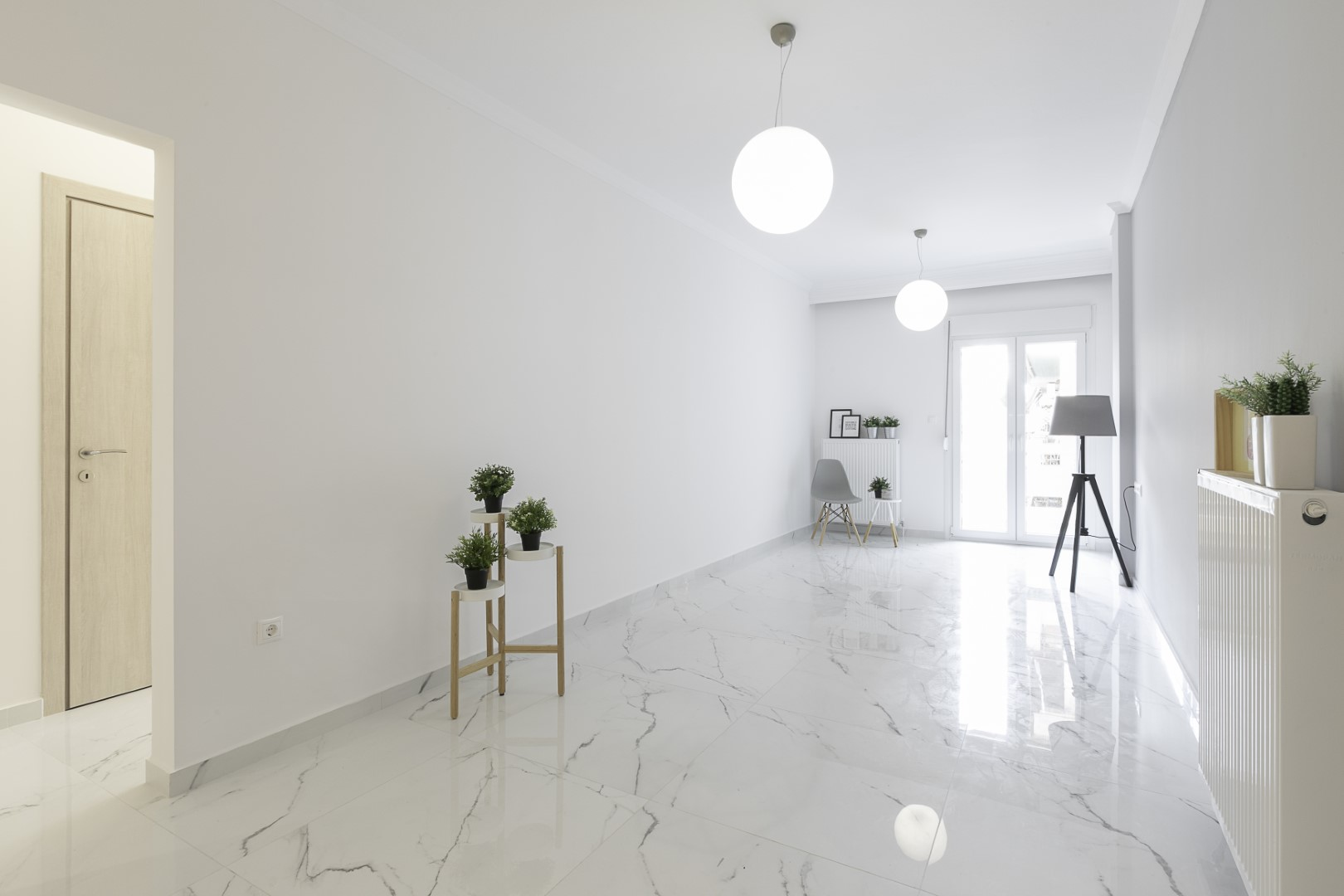 Apartment renovation | N.Paralia | 96 sq.m. | 4th floor