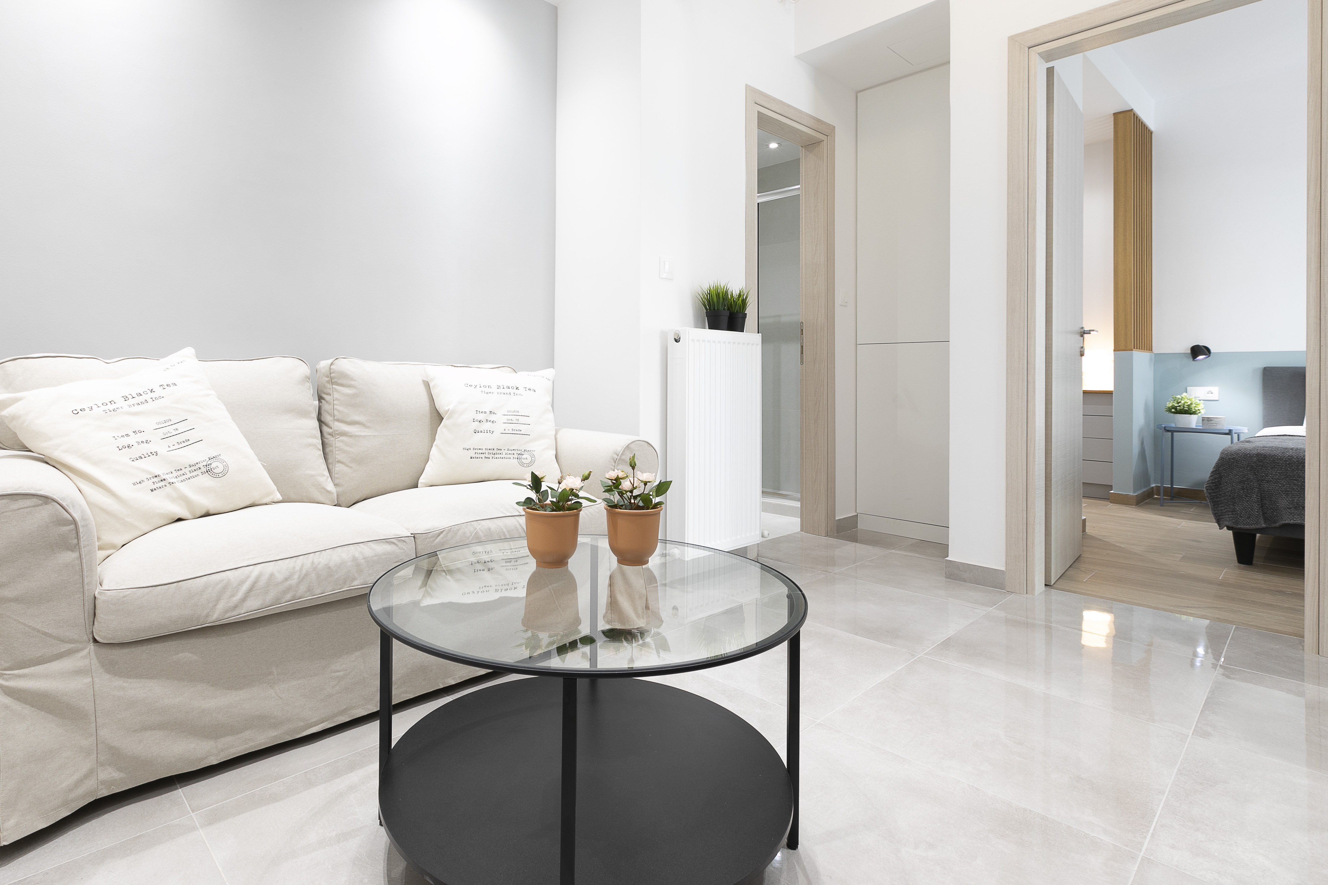 Apartment renovation   Αg.Triada   45 sq.m.   1st floor