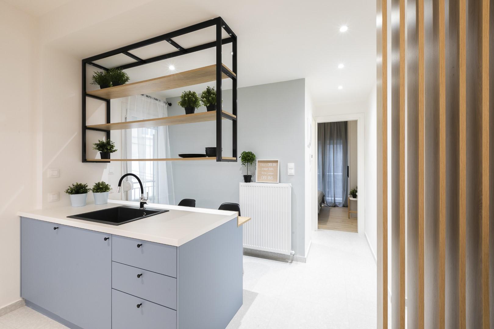 Apartment renovation | Αg.Sofias | 45 sq.m. | 1st floor
