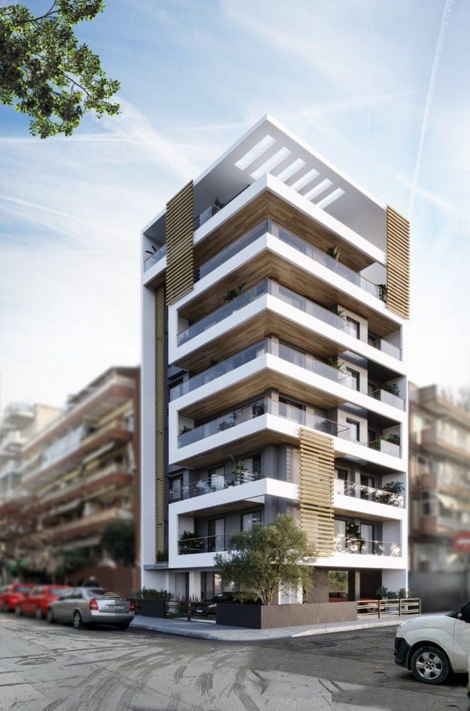 Kato Toumpa| Amfipoleos 16 | Apartment | 116,34 sq.m. | 3rd floor |