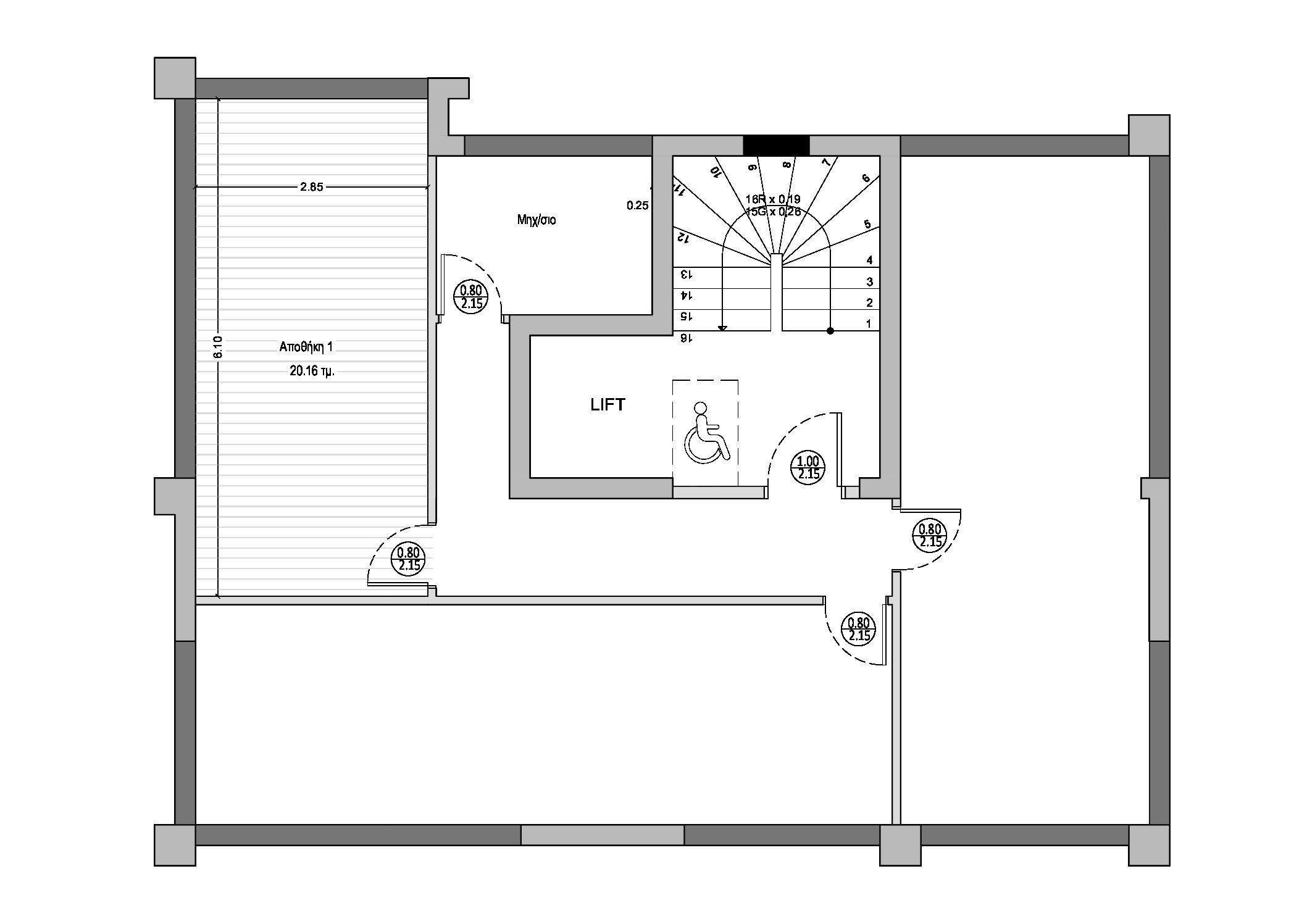 Κων/τικα   Σπ. Λούη 19 Ι Νεόδμητο   132 τ.μ.   1ος όροφος