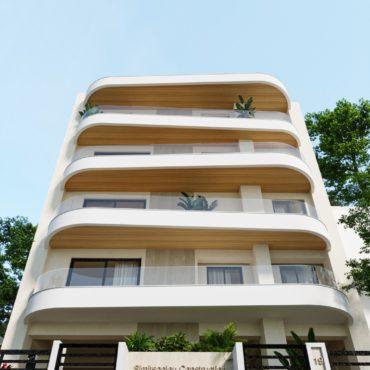 4όροφο κτίριο κατοικιών στα Κωνσταντινουπολίτικα – Σπύρου Λούη 19